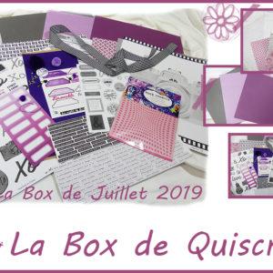 La Box de Mois de Juillet 2019