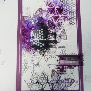 Tuto Minialbum Smile (Technique Fuse + Brushos)