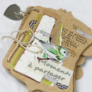Kit Mini-Album «Moment à Partager»