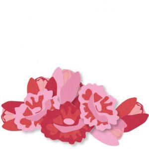 Lot de 24 Cardstock Unis – 6 Coloris – Nuance de Rose