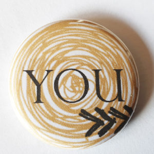 Badge « You Beige » Quiscrap