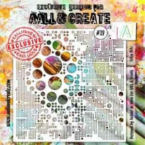 Pochoir 039 de AALL & Create