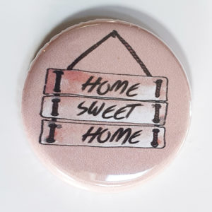 Badge Home Sweet Home de Quiscrap