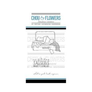 Tampons clear La Valise Chou&Flowers