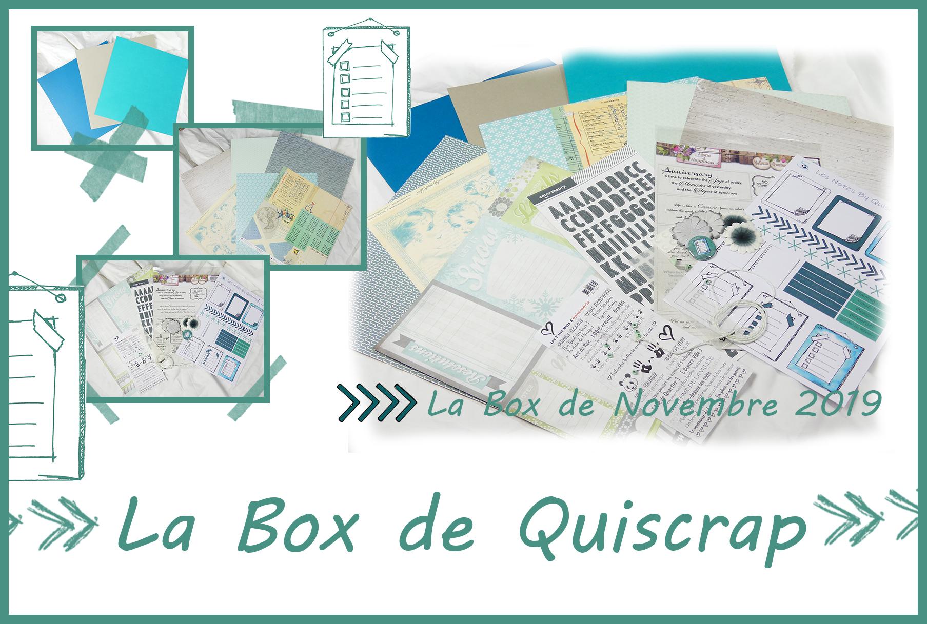 La Box de Novembre 2019