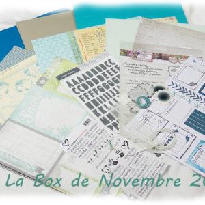 La Box du Mois de Novembre 2019