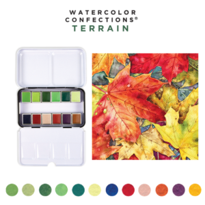 Palette Aquarelle Watercolor Prima Confections Terrain
