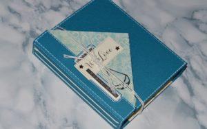 Le premier tuto de Gaëlle avec la Box de Novembre 2019: un mini-album dédié à son enfance pour sa maman