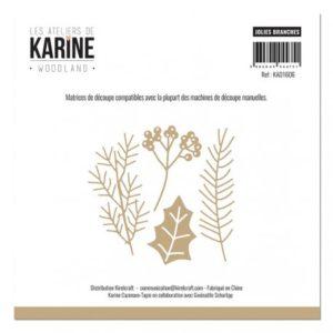 Dies Jolies Branches Collection Woodland Les Ateliers de Karine