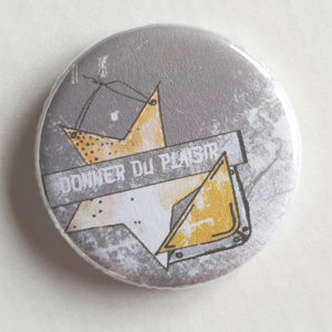 Badge Donner du Plaisir By Quiscrap