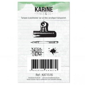 Tampons Clear Pince & Co Les ateliers de Karine