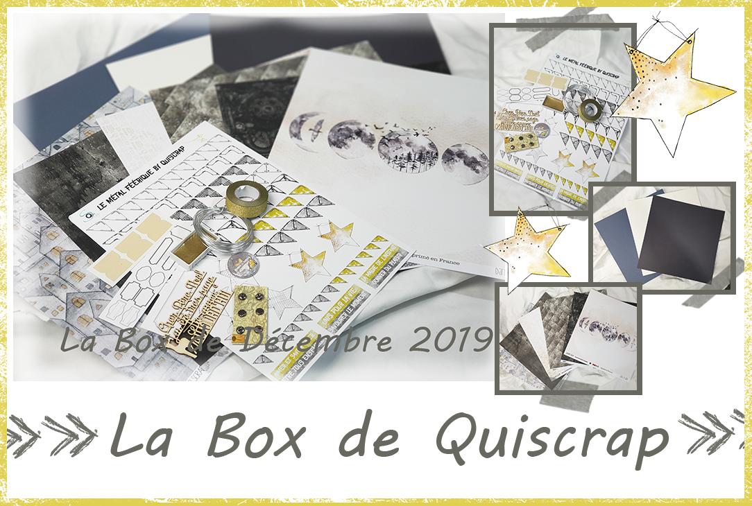 La Box de Décembre 2019