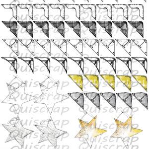 Planche de dies-cut Le Métal By Quiscrap