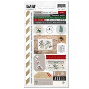 Stickers 15 x 30 Collection Woodland Les Ateliers de Karine