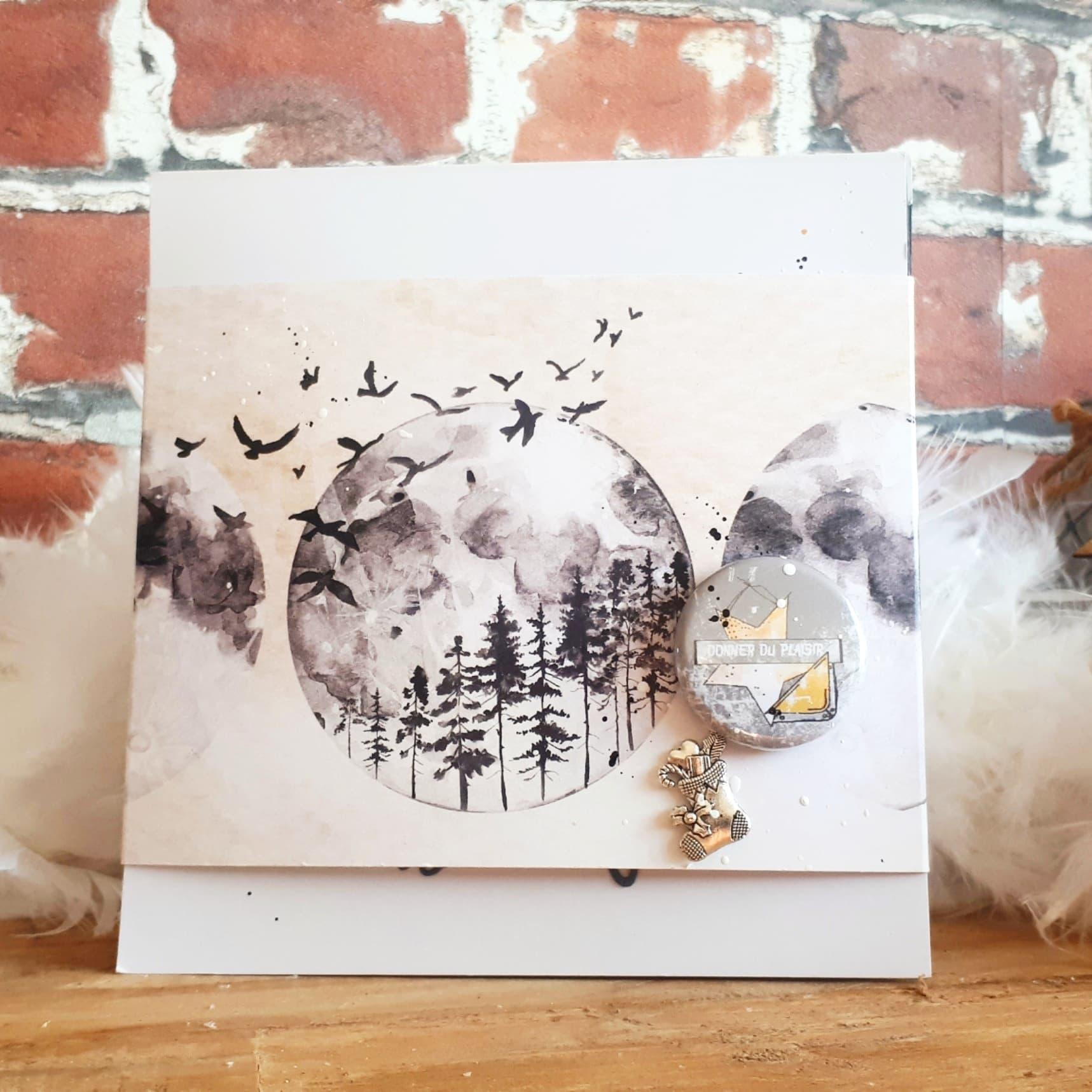 Box de Décembre 2019:    Rose Bzh nous présente le dernier tuto de l'année: un minialbum original!