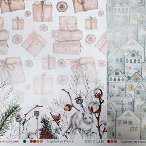 Papier Piodao Collection Vintage Cocooning Sagapo Scrap