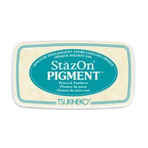 Stazon Pigment Plumes de Paon