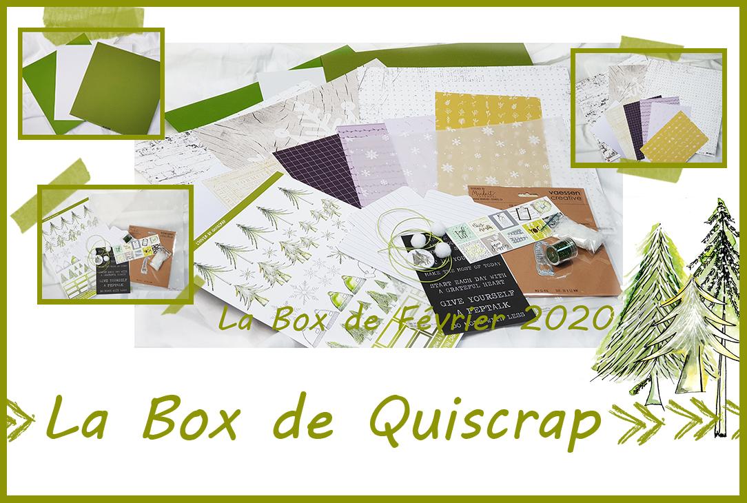 La Box de Février 2020
