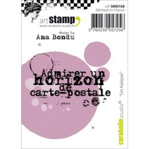Tampon Cling Admirer Un Horizon de Carte Postale Carabelle Studio