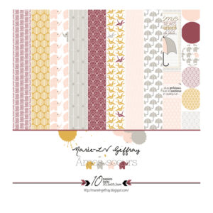 Collection 10 Papiers Ames Soeurs Marie-LN Geffray