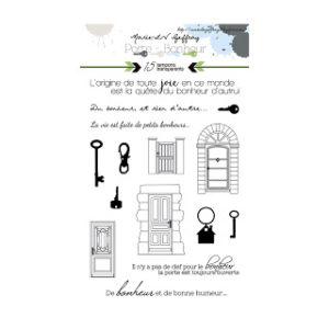 Tampons Porte et Clefs Collection Porte-Bonheur Marie-LN Geffray Planche 1