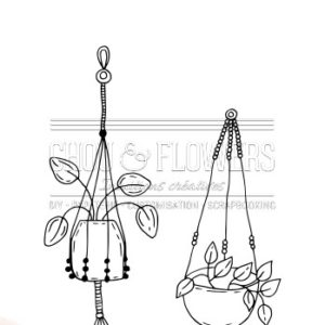 Tampon clear Suspension 1 Chou&Flowers