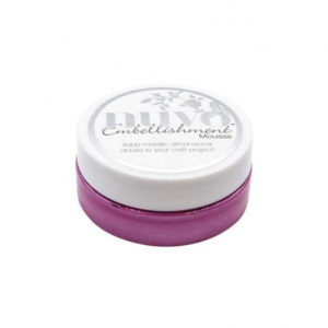 Nuvo Embellishment Mousse Triple Berry