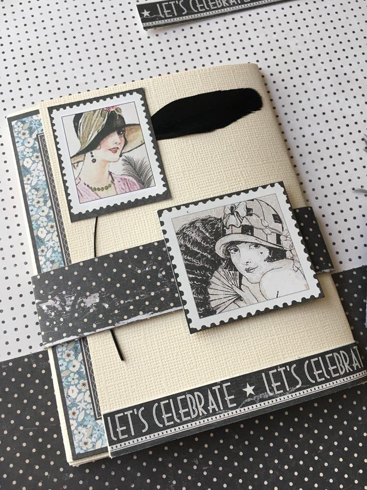 Le Tuto n°2 D'isabelle Héront pour la Box de Mars 2020: un minialbum clean&simple&féminin