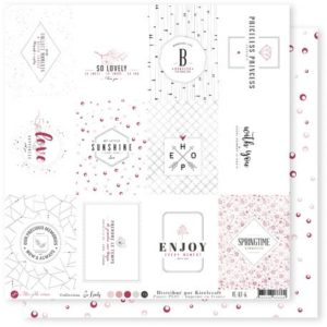 Papier Etiquettes Collection So Lovely Mes Ptits Ciseaux