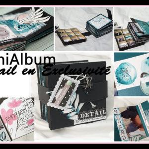 Kit MiniAlbum Détail En Exclusivité – Premiers pas à l'Aquarelle