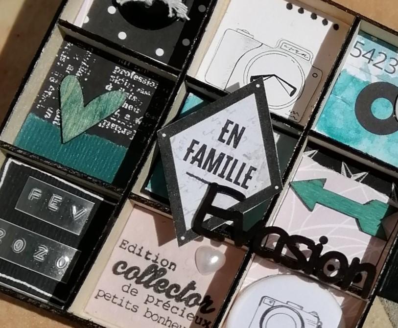 Le Kit MiniAlbum Détail en Exclusivité par Virginie