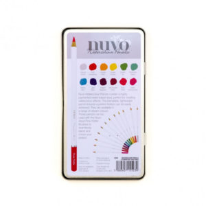 Crayon Aquarellable Nuvo – Watercolour Pencil – Tonic Studios Elementary Midtones