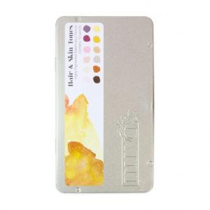 Crayon Aquarellable Nuvo – Watercolour Pencil – Tonic Studios Hair & Skin Tones