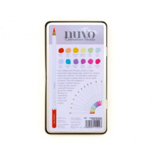 Crayon Aquarellable Nuvo – Watercolour Pencil – Tonic Studios Pastel Highlights