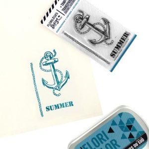 Tampon Clear Summer Florilèges Design