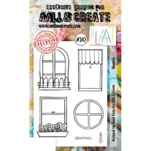 Tampon Clear #342 Windows AALL & Create
