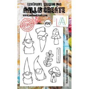 Tampon Clear #347 Gnomes AALL & Create