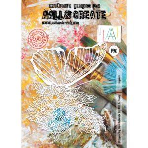 Pochoir #90 Elegance AALL & Create