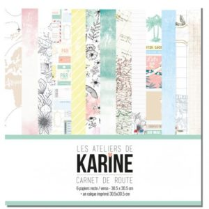 Collection Carnet de Route Les Ateliers de Karine
