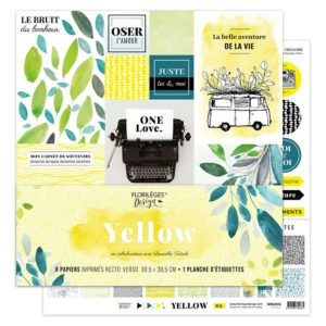 Kit imprimés Yellow Florilèges Design