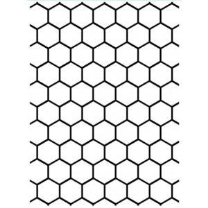 Classeur d'Embossage Nid d'abeille