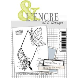 Tampon clear Menthe Sauvage L'Encre et L'Image