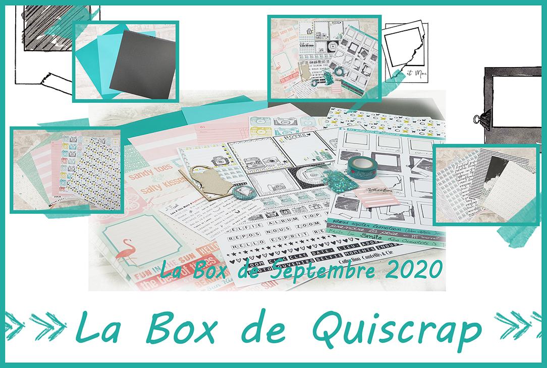 La Box de Septembre 2020