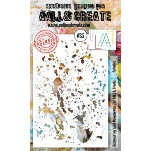Pochoir #35 AALL&Create Splashes