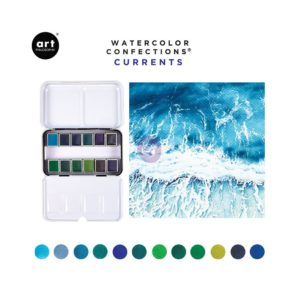 Palette Aquarelle Watercolor Confections Prima Currents