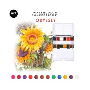 Palette Aquarelle Watercolor Confections Prima Odyssey