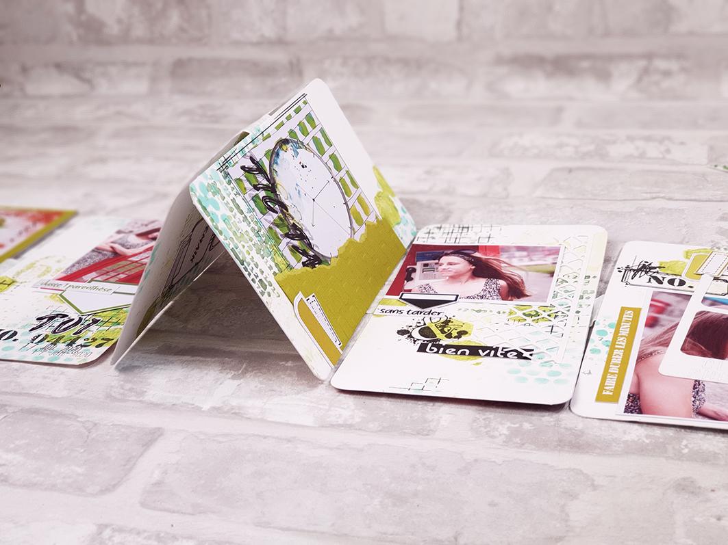 Tuto minialbum patouille avec la Box d'Aout 2020