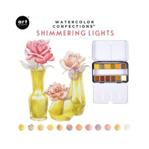 Palette Aquarelle Watercolor Confections Prima Shimmering Lights