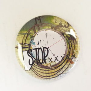 Badge Stop Collection Hier Ajourd'hui Demain de Quiscrap