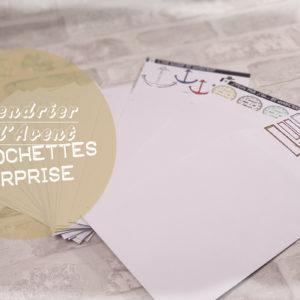 Calendrier de l'Avent 100% Quiscrap: 25 pochettes surprises